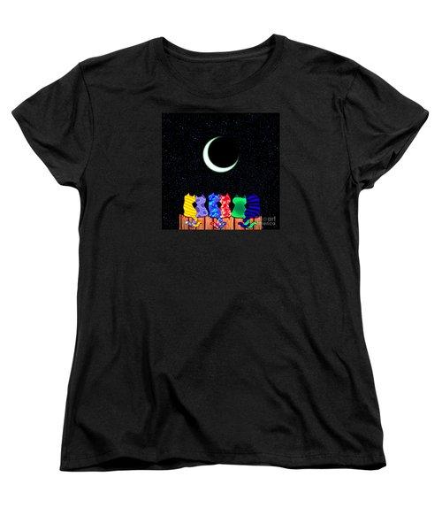 Star Gazers Women's T-Shirt (Standard Cut)