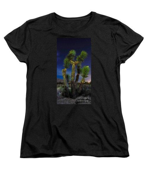 Women's T-Shirt (Standard Cut) featuring the photograph Star Gazing by Angela J Wright