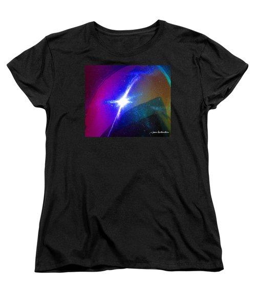 Star Women's T-Shirt (Standard Cut) by Joan Hartenstein