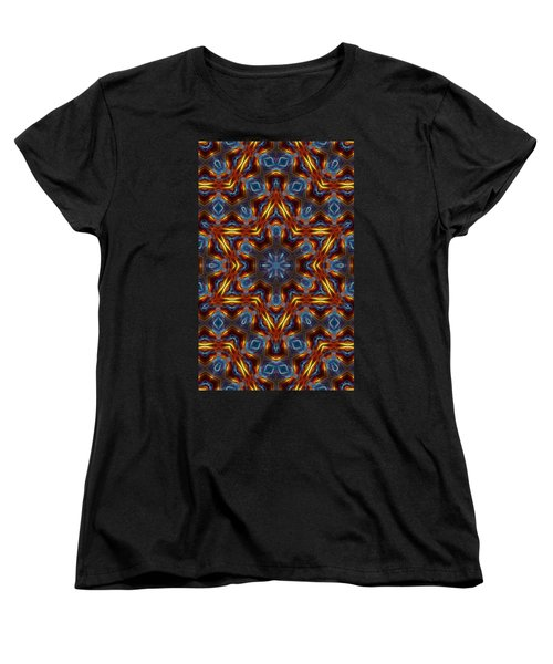 Star Of David Women's T-Shirt (Standard Cut) by Lilia D
