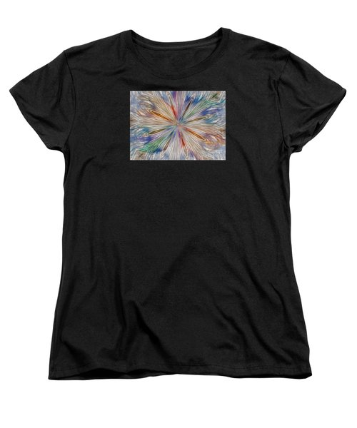 Women's T-Shirt (Standard Cut) featuring the photograph Starburst by Geraldine DeBoer