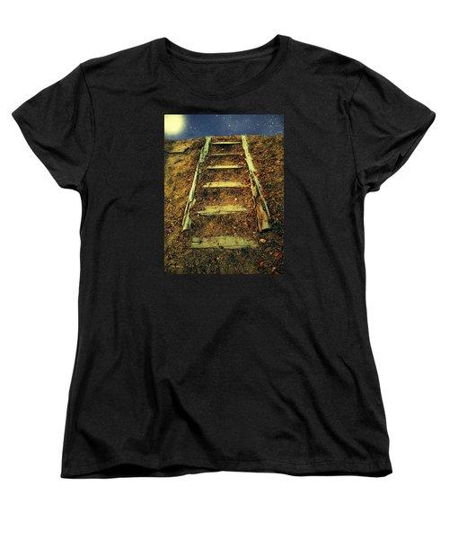 Starclimb Women's T-Shirt (Standard Cut) by RC deWinter
