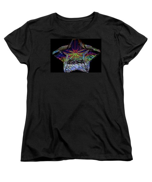 Starlight Women's T-Shirt (Standard Cut) by Charlie Brock