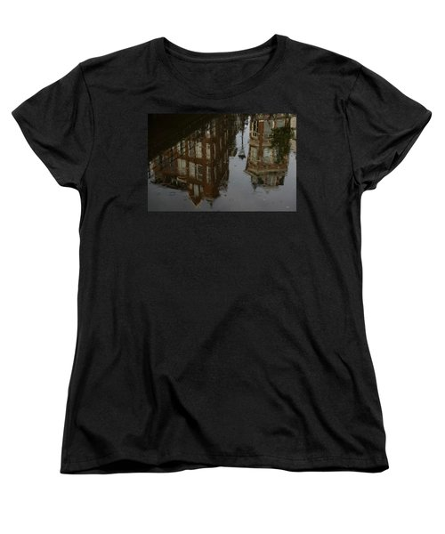 Women's T-Shirt (Standard Cut) featuring the photograph Starting To Rain... by Georgia Mizuleva