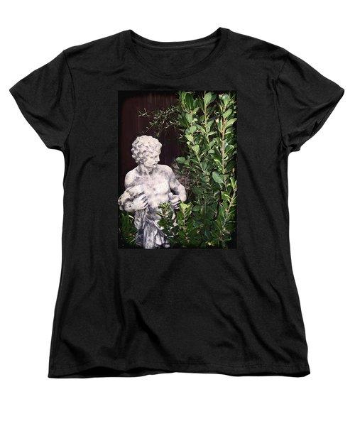 Statue 1 Women's T-Shirt (Standard Cut) by Pamela Cooper