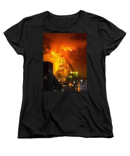 Steam And Light Women's T-Shirt (Standard Cut) by Daniel Heine