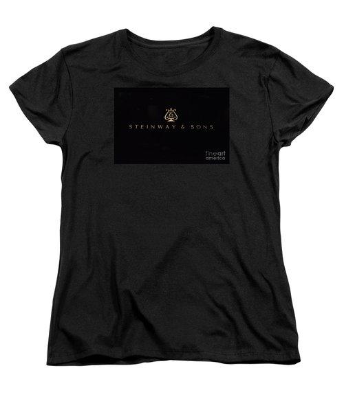 Steinway And Sons Women's T-Shirt (Standard Cut) by David Bearden