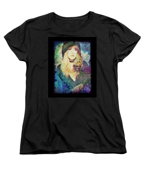 Stevie Nicks - Beret Women's T-Shirt (Standard Cut)