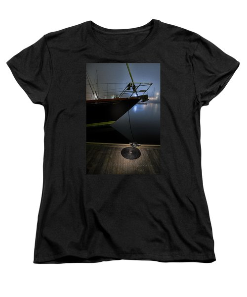 Women's T-Shirt (Standard Cut) featuring the photograph Still In The Fog by Marty Saccone