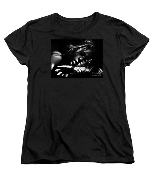 Stillness Speaks Women's T-Shirt (Standard Cut) by Jessica Shelton