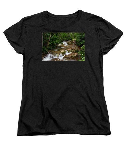 Stockbridge Falls Women's T-Shirt (Standard Cut) by Dave Files