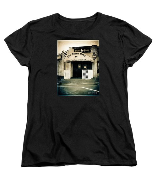 Stone Pony Women's T-Shirt (Standard Cut) by Colleen Kammerer