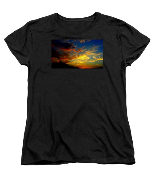 Storm Brings Beauty Women's T-Shirt (Standard Cut) by Chris Tarpening
