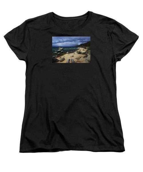 Women's T-Shirt (Standard Cut) featuring the photograph Stormy Days  by Sean Sarsfield