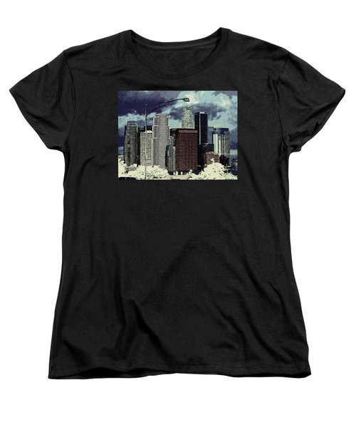 stormy Los Angeles from the freeway Women's T-Shirt (Standard Cut)