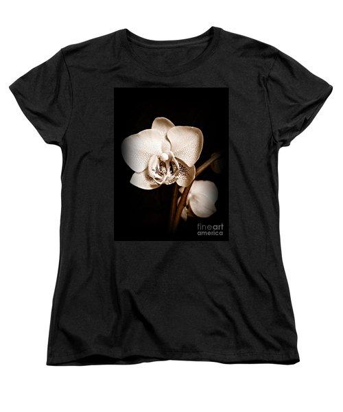 Strength And Beauty Sepia Women's T-Shirt (Standard Cut)