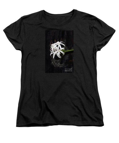 Women's T-Shirt (Standard Cut) featuring the photograph String Lily #1 by Paul Rebmann