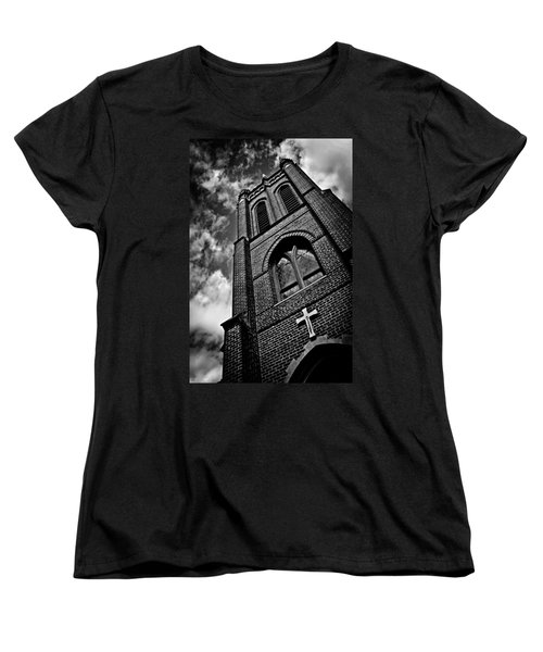 Strong Tower Women's T-Shirt (Standard Cut) by Jessica Brawley