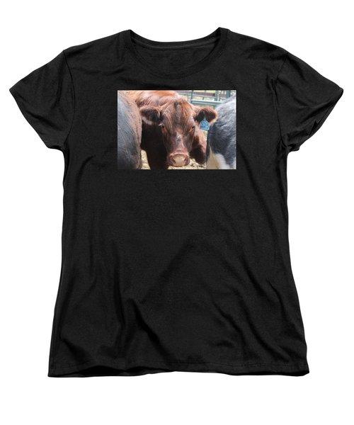 Stuck In The Middle Women's T-Shirt (Standard Cut) by Tiffany Erdman