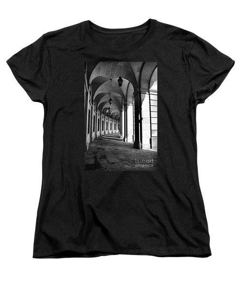 Women's T-Shirt (Standard Cut) featuring the photograph Study In Black And White by John S