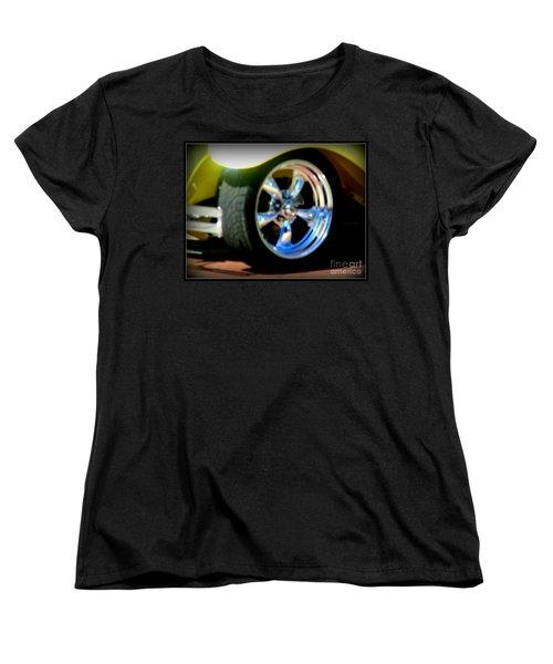 Women's T-Shirt (Standard Cut) featuring the photograph Stylin' Wheels by Bobbee Rickard