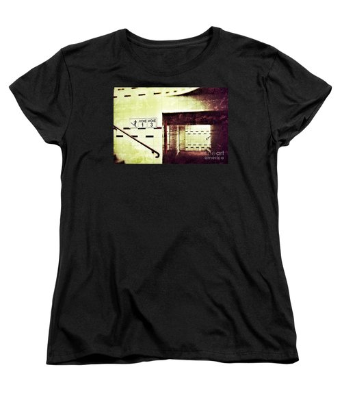 Subway  Women's T-Shirt (Standard Cut) by Nick  Biemans