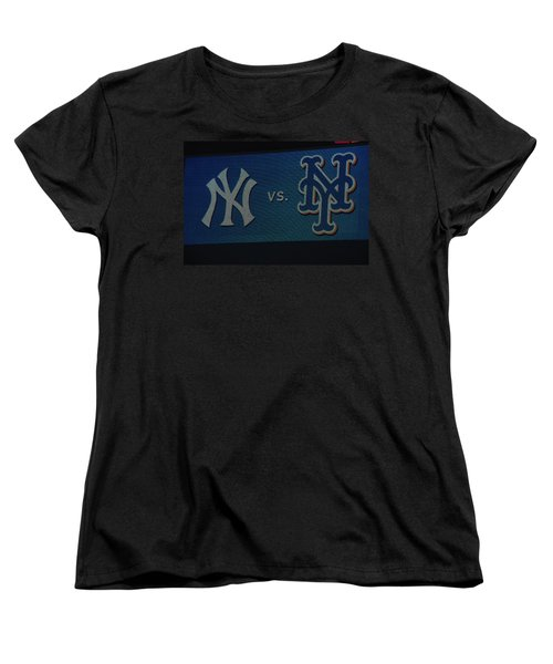 Subway Series Women's T-Shirt (Standard Cut) by Richard Bryce and Family