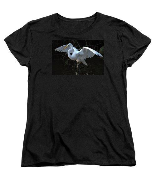 Women's T-Shirt (Standard Cut) featuring the photograph Successful Hunt by Charlotte Schafer