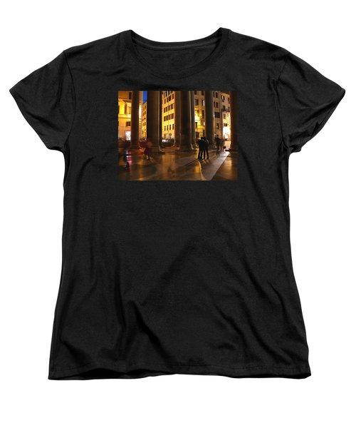 Summer Evening In Rome Women's T-Shirt (Standard Cut) by Evelyn Tambour