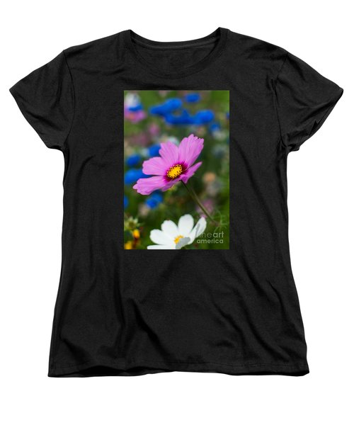Women's T-Shirt (Standard Cut) featuring the photograph Summer Wild Blooms by Matt Malloy