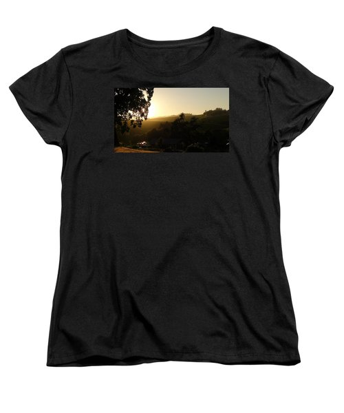 Sun Down Women's T-Shirt (Standard Cut) by Shawn Marlow