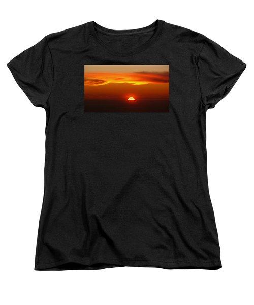 Sun Fire Women's T-Shirt (Standard Cut) by Evelyn Tambour