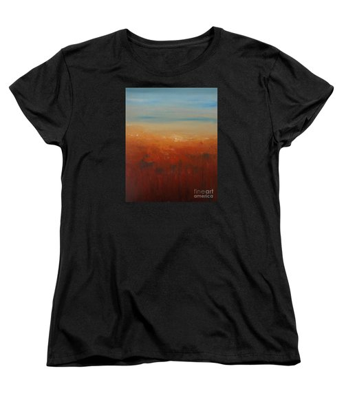 Sunburnt Country Women's T-Shirt (Standard Cut) by Jane  See