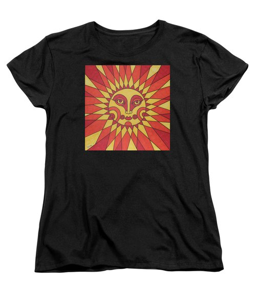 Sunburst Women's T-Shirt (Standard Cut) by Susie Weber