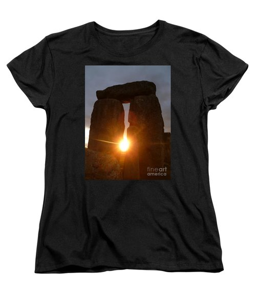 Women's T-Shirt (Standard Cut) featuring the photograph Sunburst by Vicki Spindler