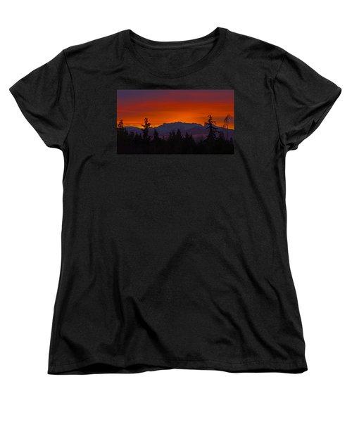 Sundown Women's T-Shirt (Standard Cut) by Randy Hall
