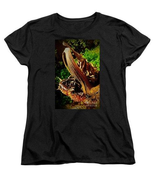 Women's T-Shirt (Standard Cut) featuring the photograph Sunflower Seedless 2 by James Aiken