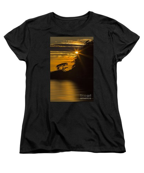 Sunkissed Women's T-Shirt (Standard Cut) by Sonya Lang