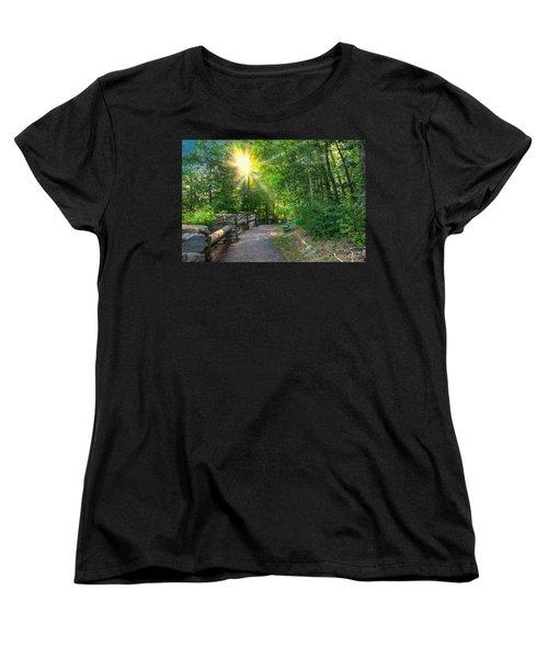 Sunlit Path Women's T-Shirt (Standard Cut)