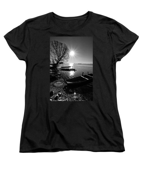 Sunny Day Women's T-Shirt (Standard Cut) by Davorin Mance