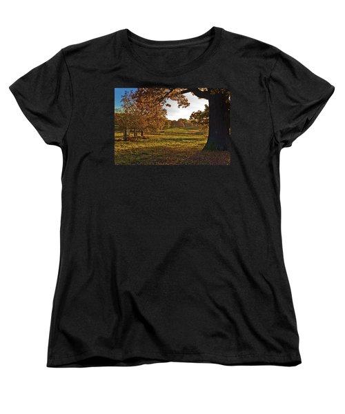 Sunny Richmond Autumn Women's T-Shirt (Standard Cut) by Maj Seda