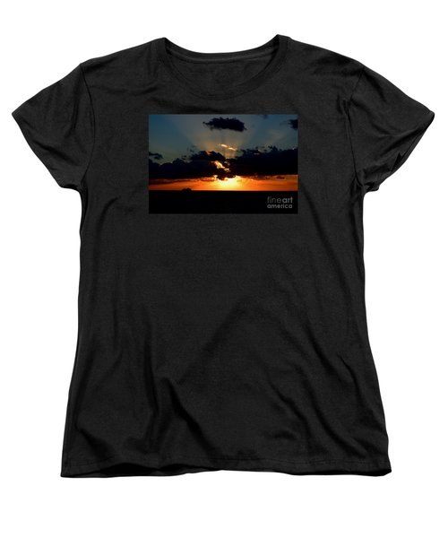 Sunset Cruise Women's T-Shirt (Standard Cut) by Gary Smith
