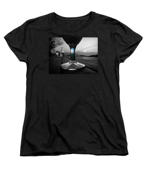 Sunset Cafe Women's T-Shirt (Standard Cut)