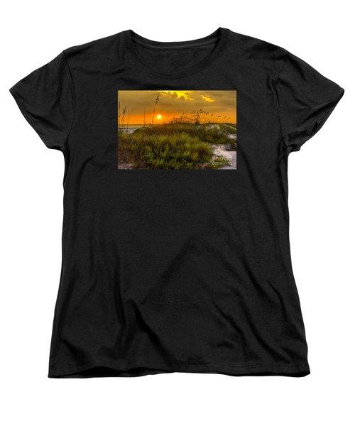Sunset Dunes Women's T-Shirt (Standard Cut) by Marvin Spates
