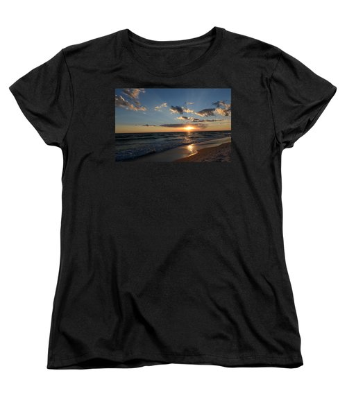 Sunset On Alys Beach Women's T-Shirt (Standard Cut) by Julia Wilcox