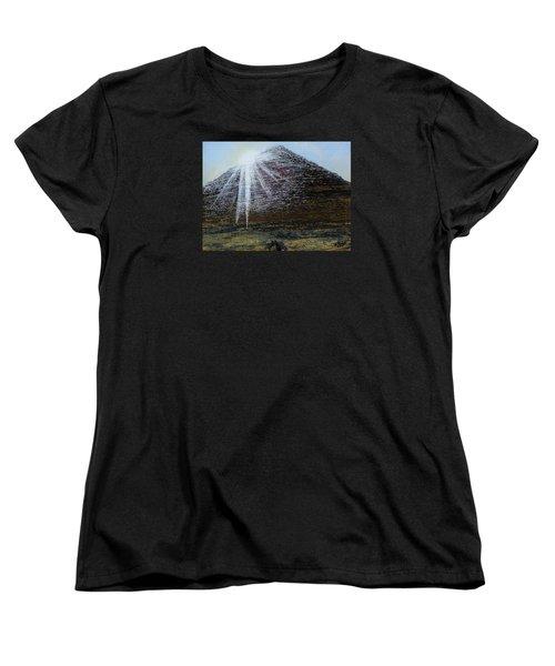 Sunset Over Khufu Women's T-Shirt (Standard Cut) by Raymond Perez