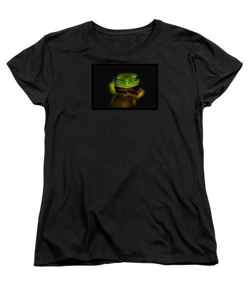 Super Frog 01 Women's T-Shirt (Standard Cut) by Kevin Chippindall