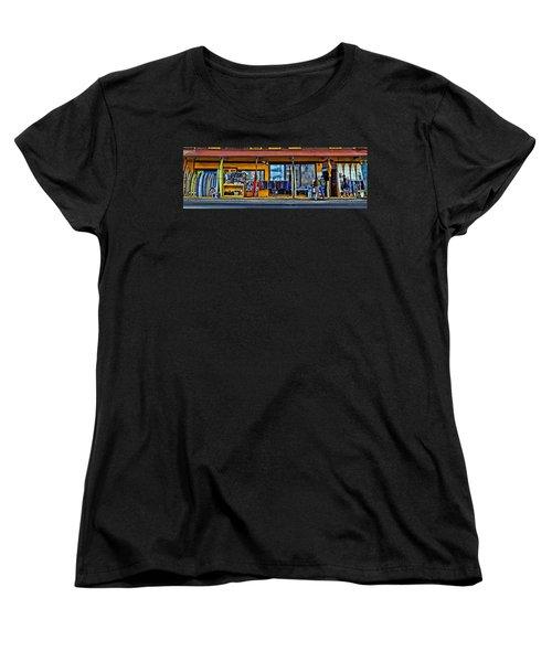Surf N Sea Women's T-Shirt (Standard Cut) by DJ Florek