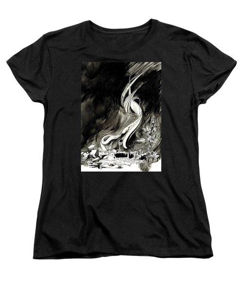 Surprise Women's T-Shirt (Standard Cut) by Julio Lopez