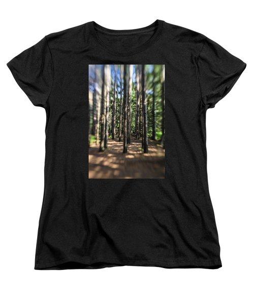 Surreal Forest Women's T-Shirt (Standard Cut)